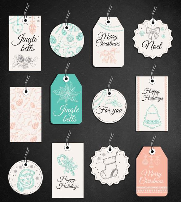 Christmas Gift Tag Printable Template