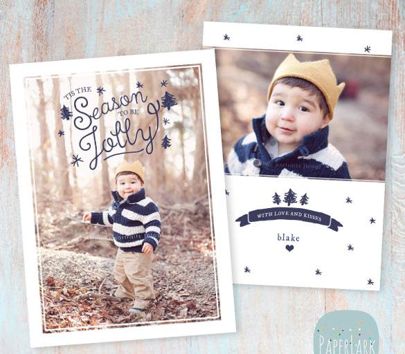 Christmas Holiday Card Template
