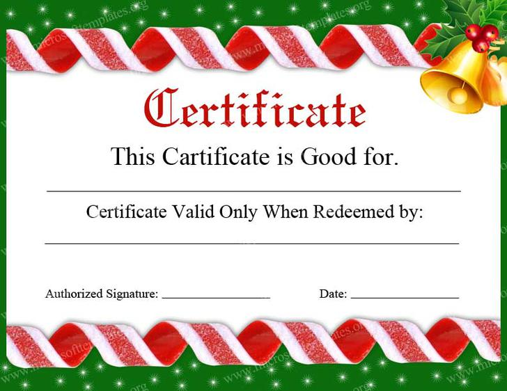 Gift certificate template download free premium templates forms christmas holidays giftcard certifcate template psd yadclub Choice Image