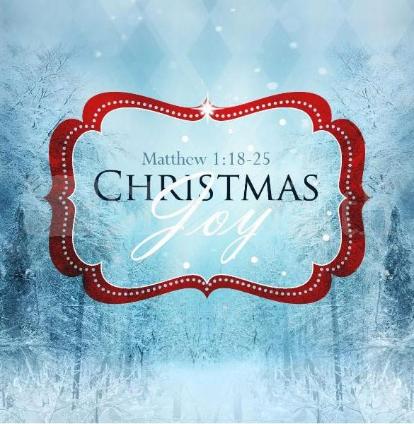 Christmas Joy To The World PowerPoint Sermon Template Download