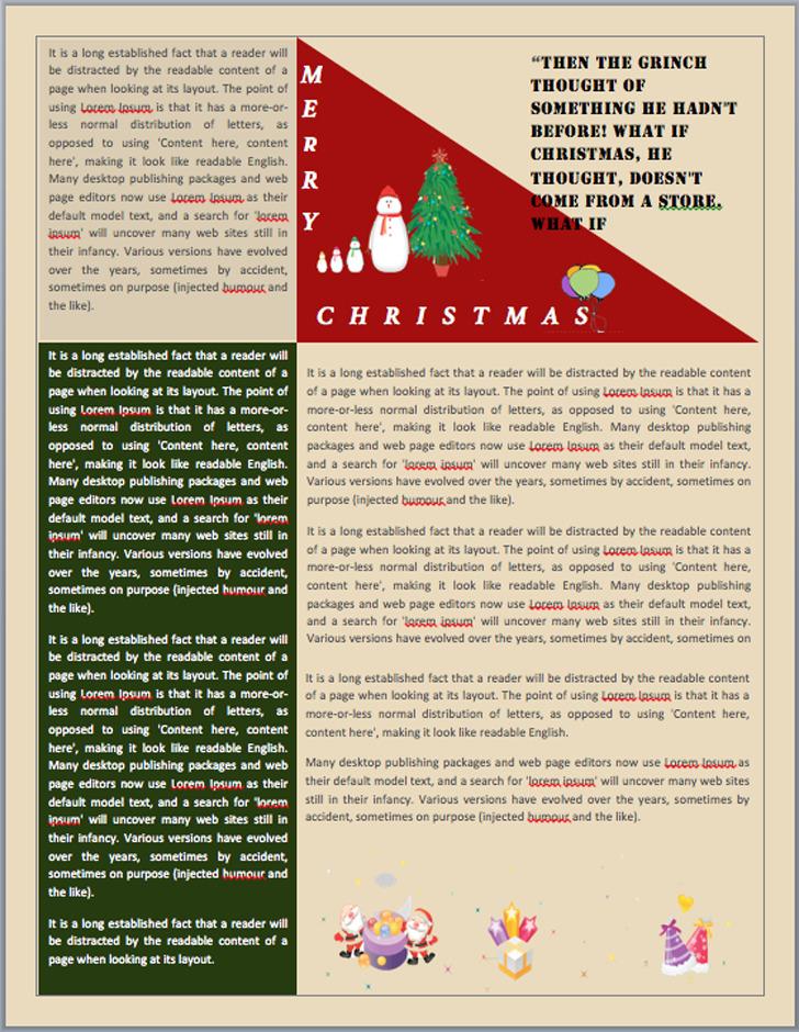 Christmas Newsletter 2