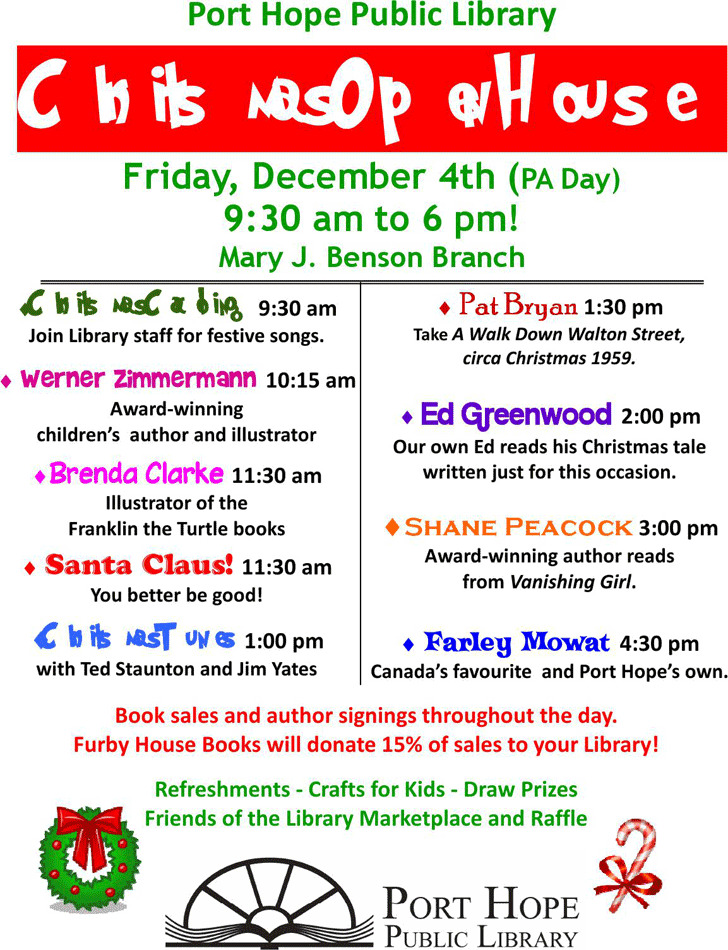 Christmas Open House Flyer