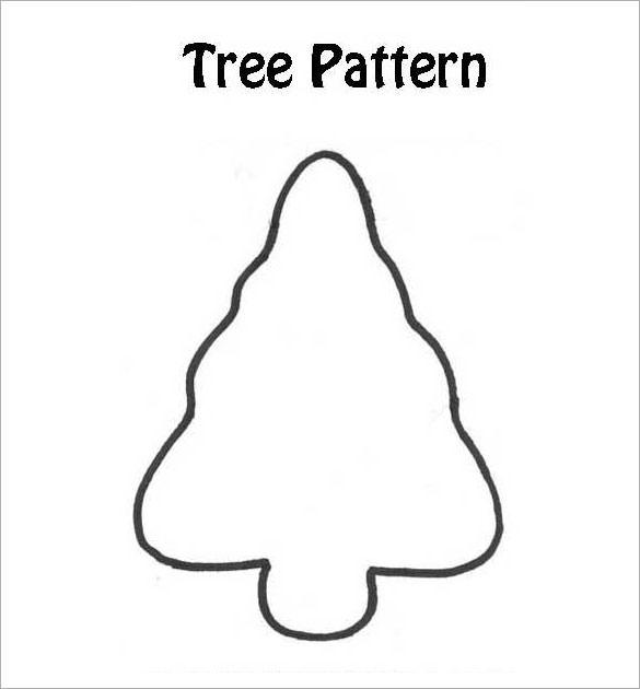 Christmas Tree Craft Pattern Download