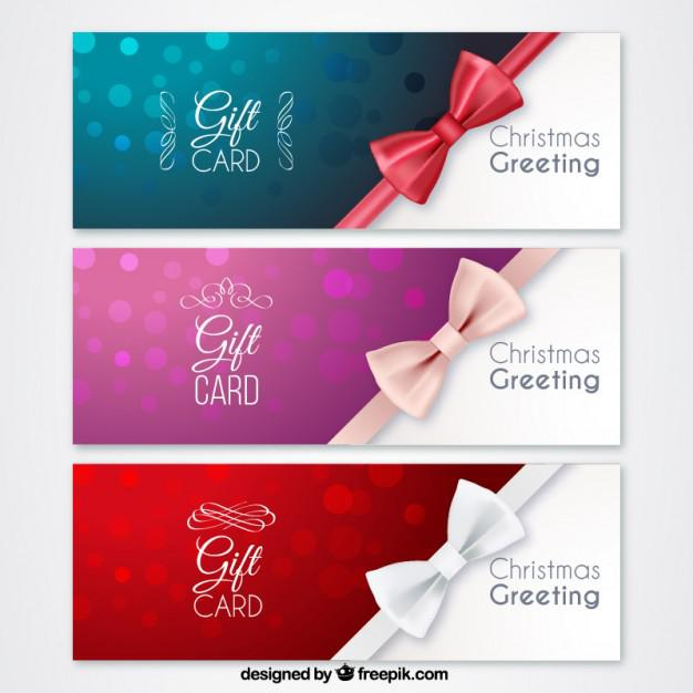 Christmas Trip Gift Certificate Premium Download