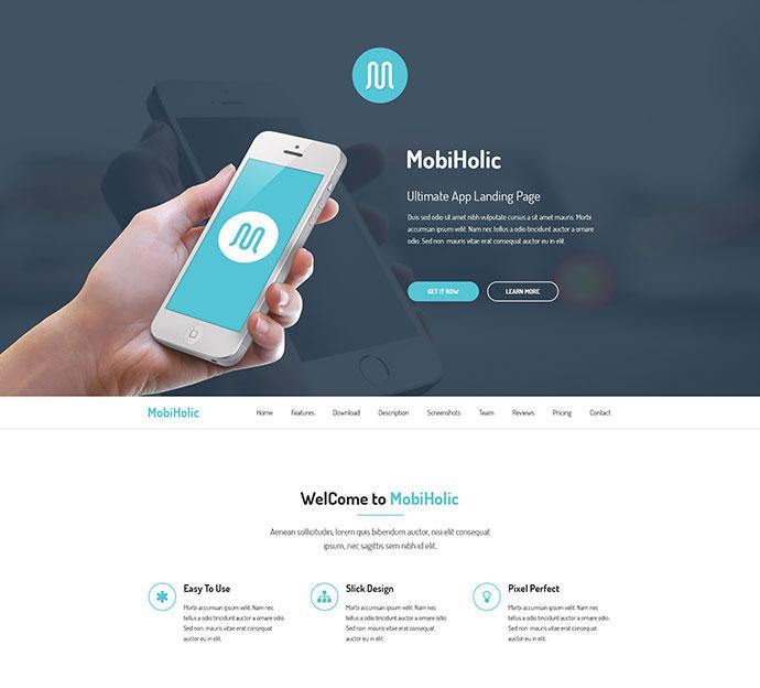 Clean Design HTML Login Page