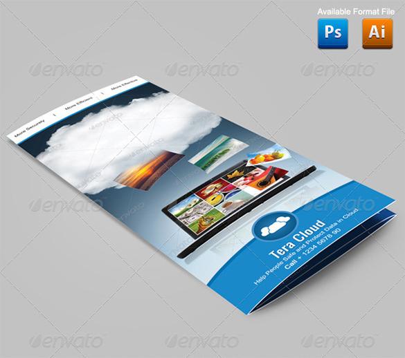 Clean Google Brochure Template-$8