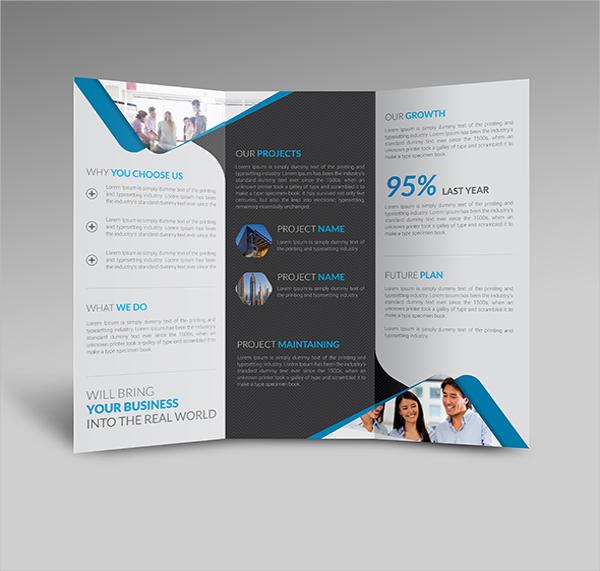 Clean Tri Fold Brochure