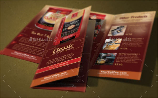 Coffee Shop Brochures  Download Free  Premium Templates Forms
