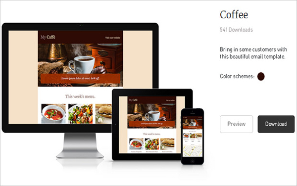 Coffee Time Newsletter Template