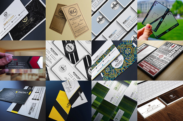 Collection of Business Card Designs