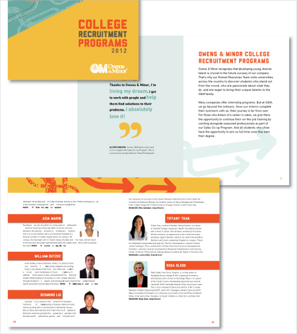 Recruitment brochures download free premium templates for Recruiting brochure template