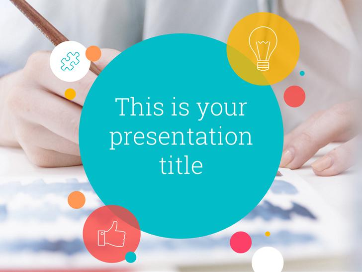 Colors Google Slides Business Presentation Download