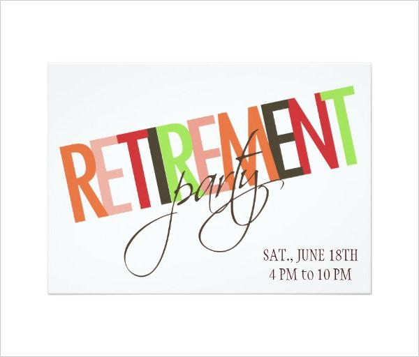 Retirement Party Invitation Templates | Download Free & Premium ...
