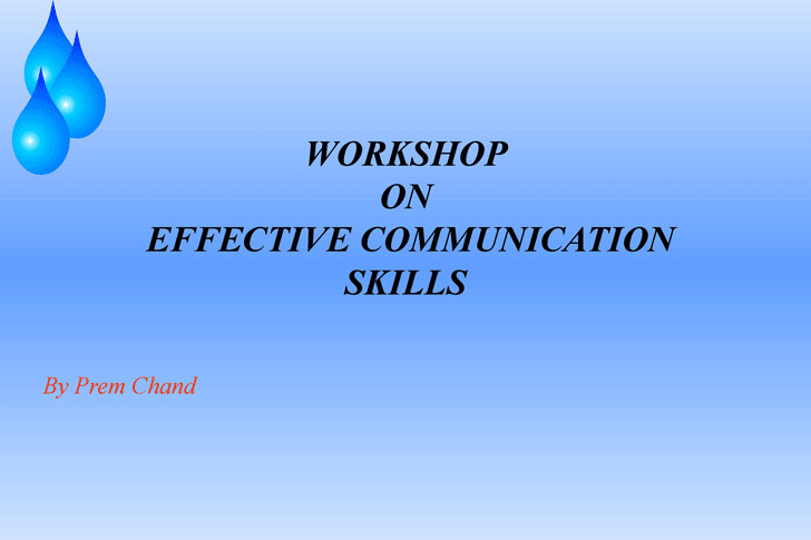 Communication Skills Ppt  Download Free  Premium Templates Forms