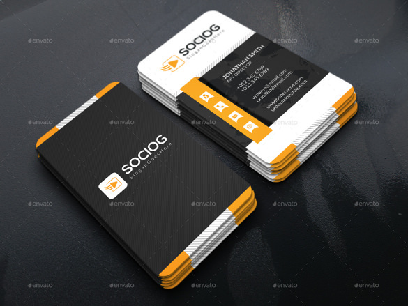 Company Business Card Design Download