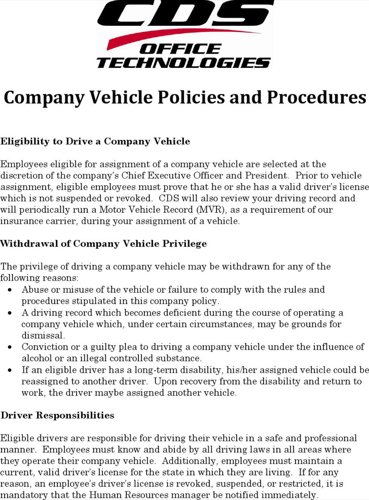 Company Policy Templates  Download Free  Premium Templates