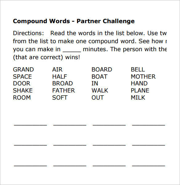 Vocabulary worksheet templates download free premium for Vocabulary words worksheet template