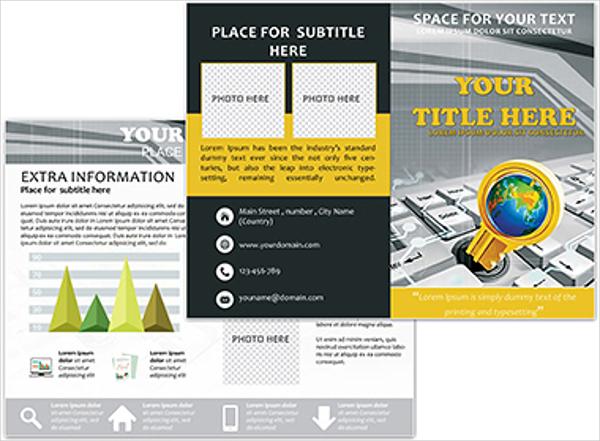 Computer Lessons Brochure
