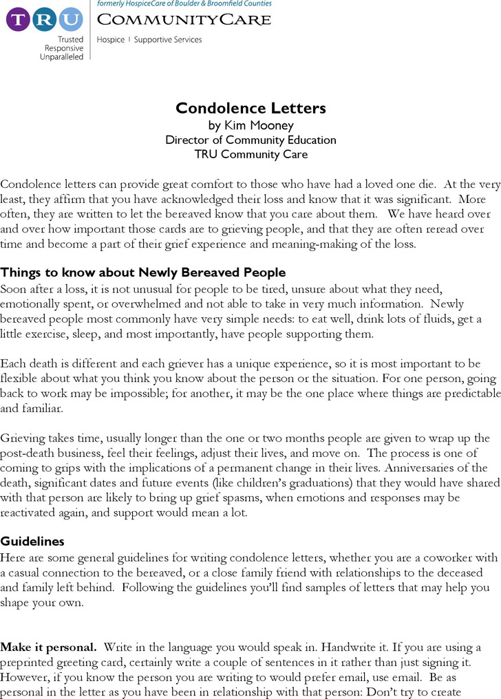 25+ Best Condolence Letter Ideas On Pinterest | Abraham