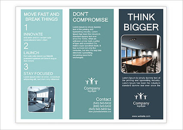Conference Room Brochure Template