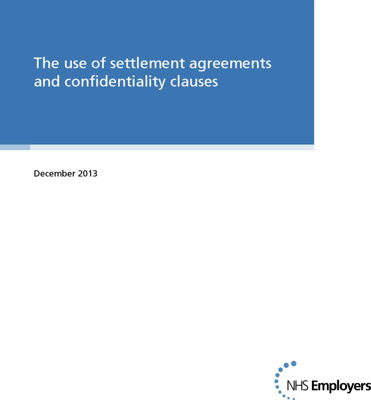 Confidentiality Settlement Agreement And Clauses