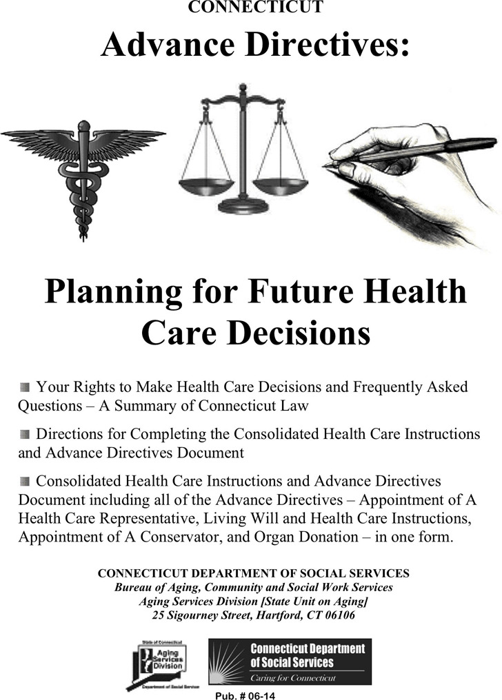 Connecticut Advance Health Care Directive Form 3