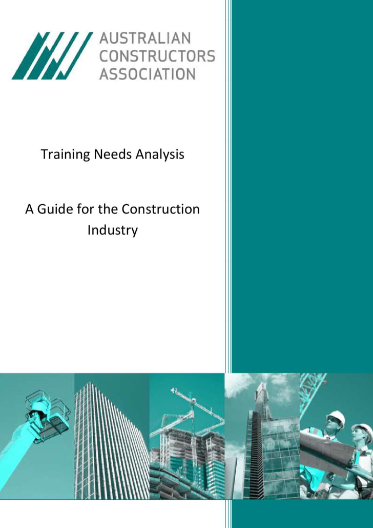 Training Needs Analysis Templates  Download Free  Premium