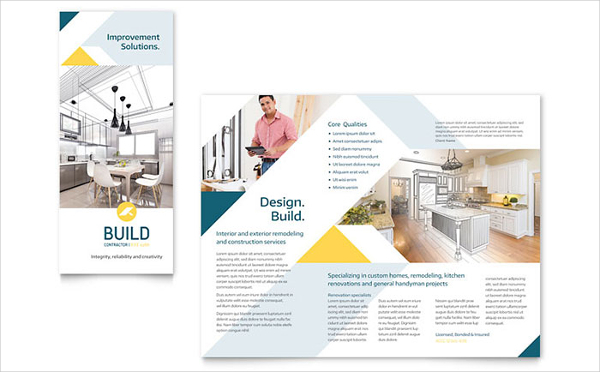 Contarctor Brochure Template