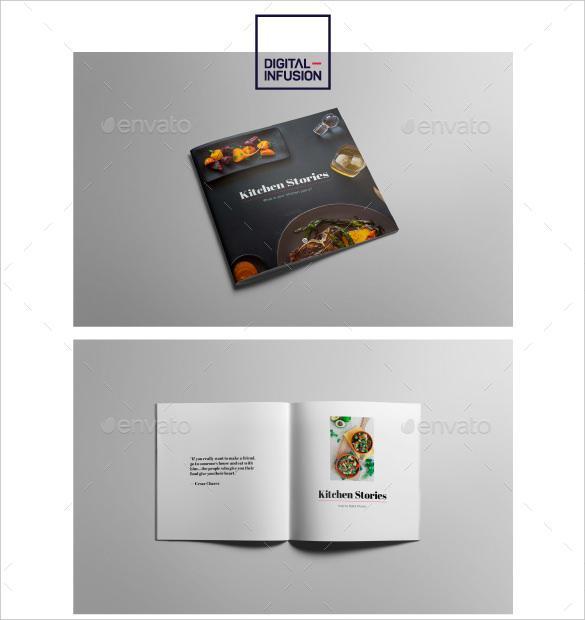 Cookbook Kitchen Stories INDD Format Download