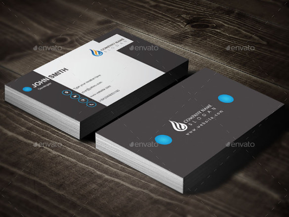 Cool Business Card Design Vector EPS Download