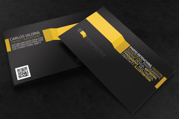 Cool Business Card PNG Download