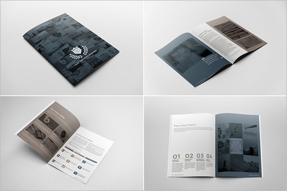 Corporate Brochure Report Template