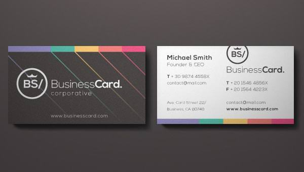 Corporate Business Card Vol 5