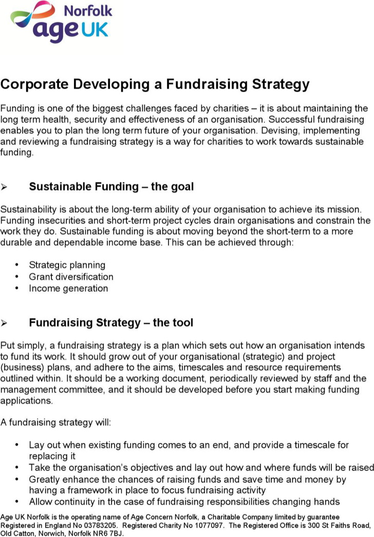 Fundraising Strategy Templates | Download Free & Premium Templates