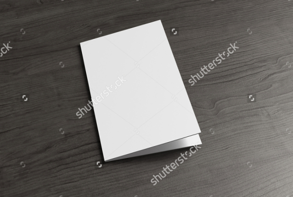 Corporate Identity Folded Business Card Template