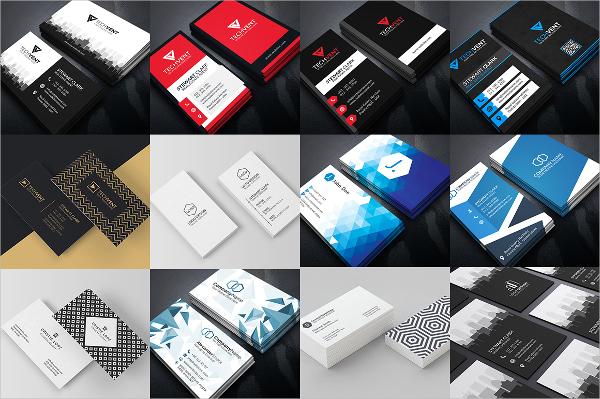 Corporate Transparent Business Card