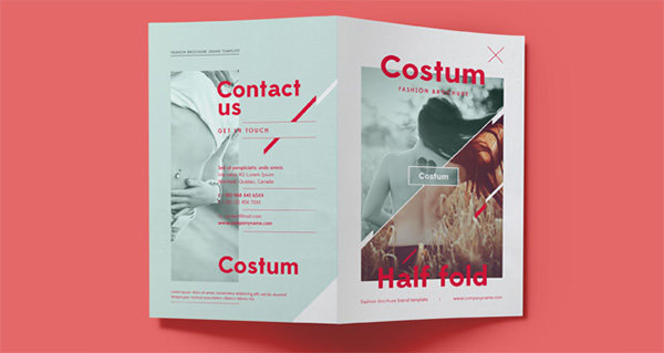 Costum Bi-Fold Brochure Template