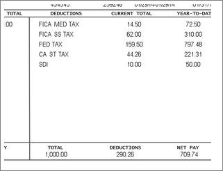Create Employee Paystub Template Free Online  Check Stubs Template Free