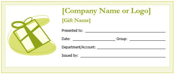 Gift certificate template download free premium for Free gift certificate template for mac