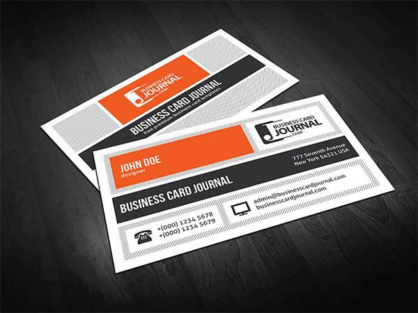 Creative & Unique Metro Style Business Card Template