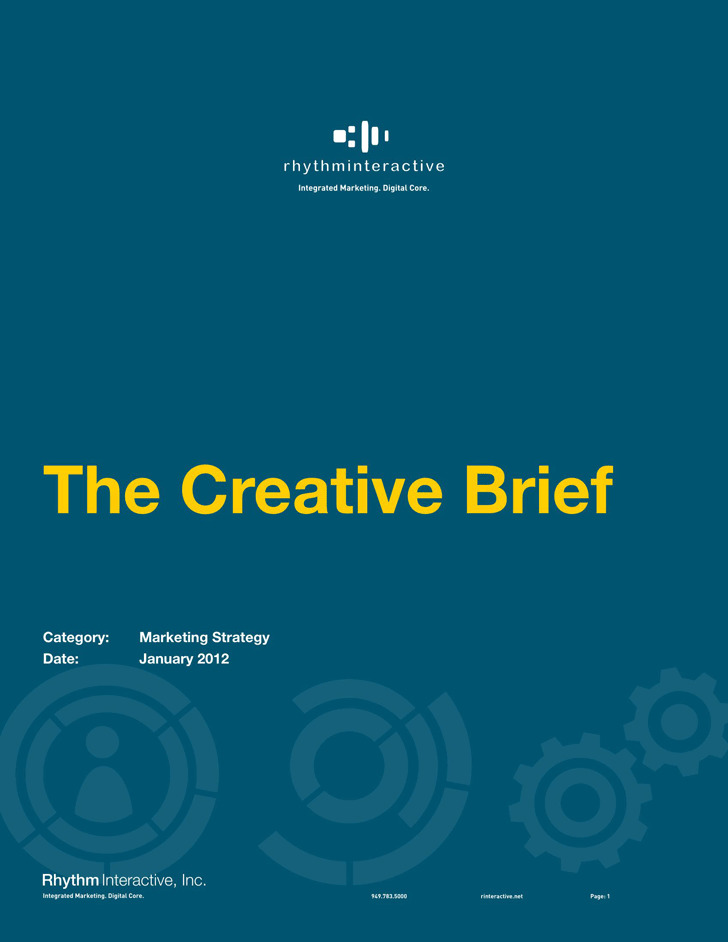 Creative Brief Template 4