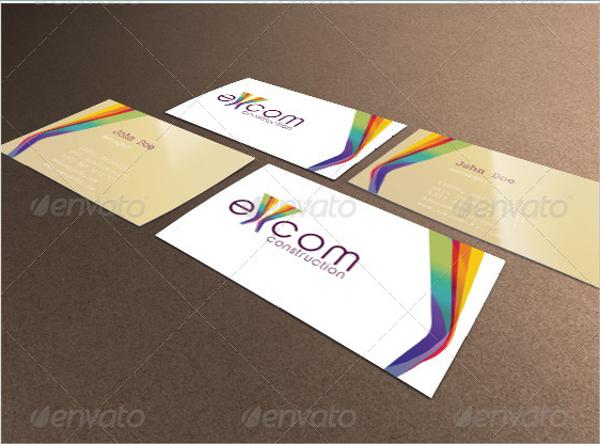 Creative Construction Business Card