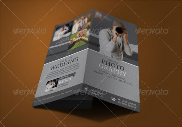 Creative Photography Brochure Template Download