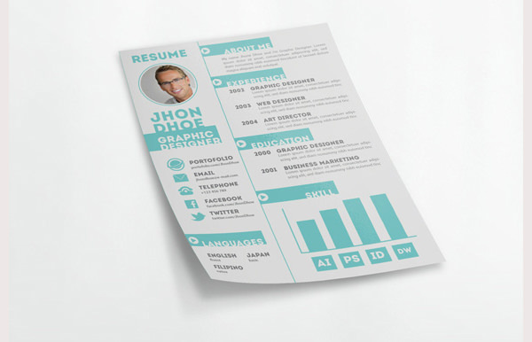 Creative Resume Template 2