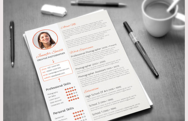 Creative Resume Template 5