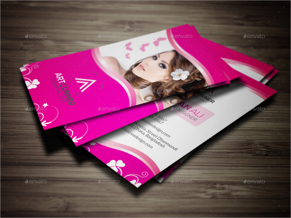 Creative Salon Business Card