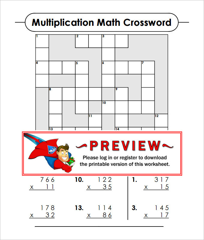 Sample Fun Math Worksheet Templates  Download Free  Premium