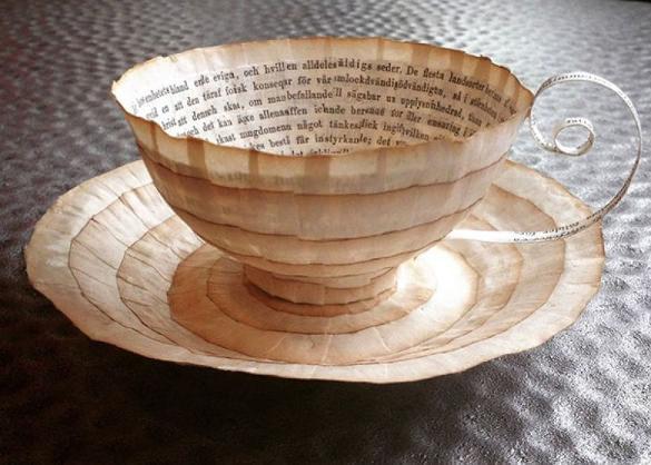 Cup Paper Art Design