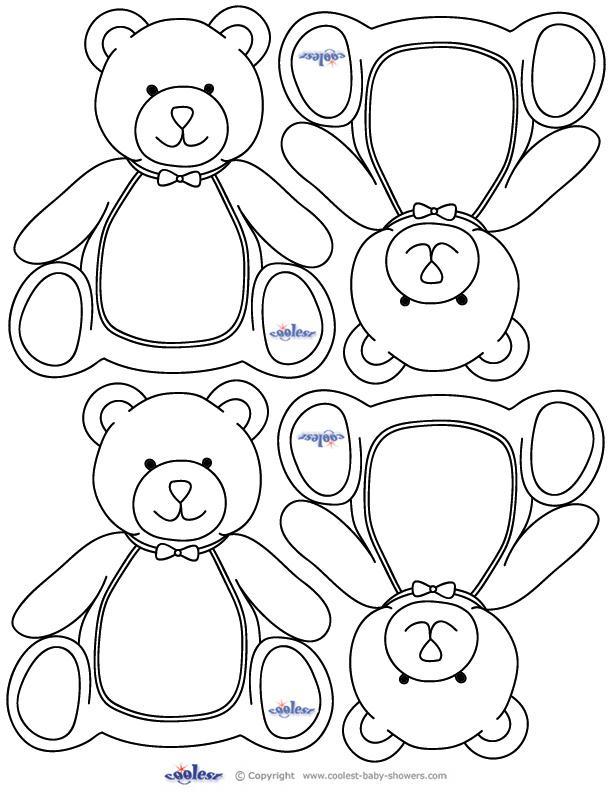 Cute Cartoon Theme Blank Bookmark Templates