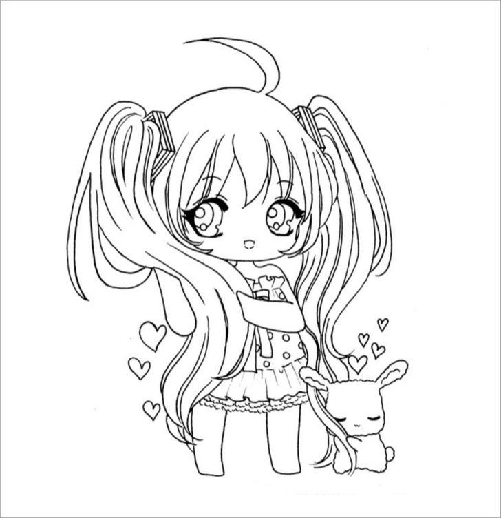 Cute Chibi Template